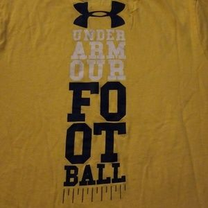 Under Armour Shirts - Under armour football tshirt
